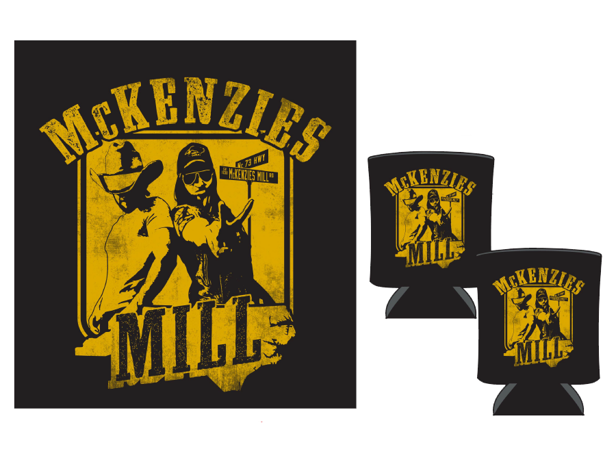 McKenzies Mill Koozie